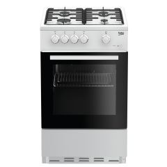 Beko ESG50W 50cm Gas Cooker with Single Oven and Grill