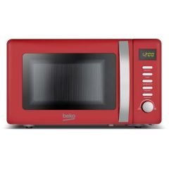 Beko MOC20200R 20 Litre Compact 800W Microwave In Red
