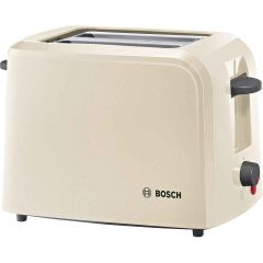 Bosch TAT3A0175G Village Collection 2 Slice 2 Slot Toaster in Cream