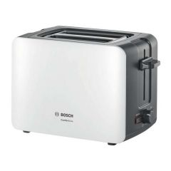 Bosch TAT6A111GB Compact 2 Slice Toaster in White