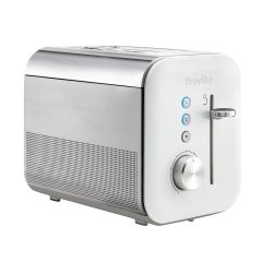 Breville VTT686 2 Slice Toaster In Gloss White