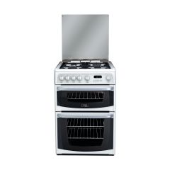 Hotpoint Cannon CH60GCIW 60cm Gas Cooker with Double Oven