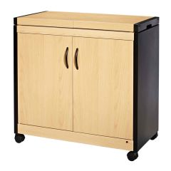 Crosslee Hostess HL6232BE Connossieur Hostess Trolley in Beech