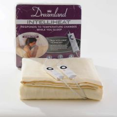 Dreamland 6971 Harmony Dual Control King Size Electric Over Blanket with Intelliheat
