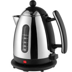 Dualit 72400 1.5Ltr Cordless Jug Kettle In Stainless and Black