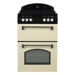Leisure CLA60CEC 60cm Electric Cooker with Double Oven Ceramic Hob