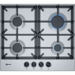 Neff T26DS49N0 60cm Gas Hob In Stainless Steel