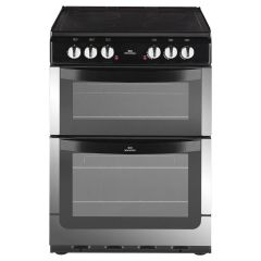 New World NW601EDO Electric Cooker with Ceramic Hob & Double Oven