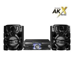Panasonic SC-AKX710E-K High Power 2000W CD Mini Audio System with Bluetooth, Airquake Bass