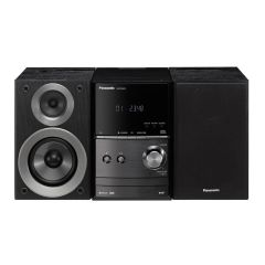 Panasonic SC-PM602EB Stereo 40W CD Micro Hi-Fi System with USB, Bluetooth