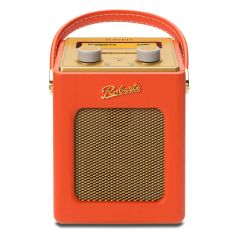 Roberts REVIVAL MINI Portable DAB FM Radio in Sunburst Orange + Gold