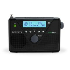 Roberts Radio UNOLOGIC DAB+/DAB/FM Radio with Built-In Battery Charger
