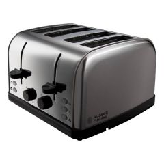 Russell Hobbs 18790 Futura 4 Slice Toaster In Stainless Steel