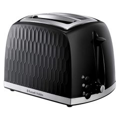 Russell Hobbs 26061 Honeycomb 2 Slice Toaster In Black