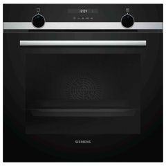 Siemens HB535A0S0B Built In Single Oven with 3D Hot Air