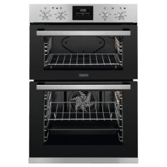 Zanussi ZOD35660XK Built In Double Fan Oven and Grill