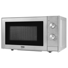 Beko MOC20100S 700W 20 Litre Compact Microwave in Silver