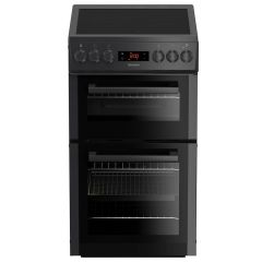 Blomberg HKS900N 50cm Double Oven Electric Cooker with Ceramic Hob