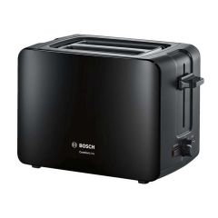 Bosch TAT6A113GB Black 2 Slice Toaster