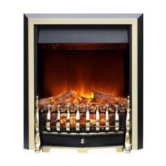 Burley 161R BR 2kW Log Effect Leighfield Electric Fire