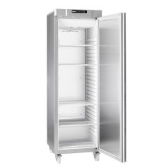 Gram F420RGC25W Compact Commercial Upright Freezer in Stainless Steel