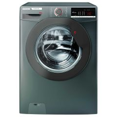 Hoover H3W58TGGE 8kg 1500 Spin Washing Machine in Graphite Grey