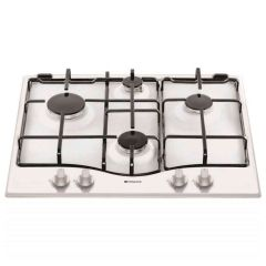 Hotpoint GF640WH 4 Burner 60cm Gas Hob in White