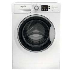 Hotpoint NSWE742UWSUKN 7kg 1400 Spin Steam Hygiene Washing Machine