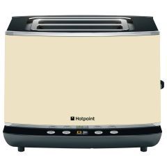 Hotpoint TT22EAC0UK 2 Slice Digital Toaster in Cream
