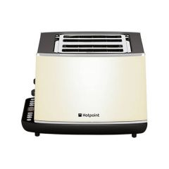 Hotpoint TT44EACOUK 4 Slice Toaster in Cream