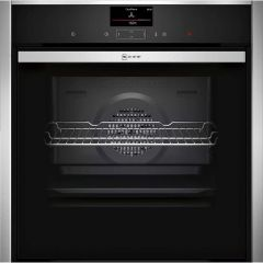 Neff B57CS24H0B Slide and Hide Pyrolytic Cleaning Single Oven
