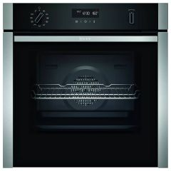 Neff B6ACH7HH0B Slide & Hide Smart Oven with Pyrolytic Cleaning