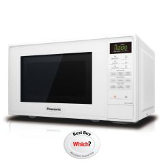 Panasonic NN-E27JWMBPQ 800W 20L Touch Control Microwave with Auto Cook