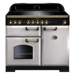 Rangemaster CDL100EIRP/B Classic Deluxe 100 Induction Range Cooker 114840