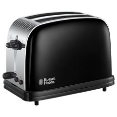 Russell Hobbs 23331 Colours Plus 2 Slice Toaster In Black