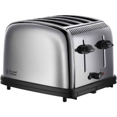 Russell Hobbs 23340 Classic 4 Slice Toaster In Stainless Steel