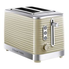 Russell Hobbs 24374 Inspire 2-Slice Toaster in Cream