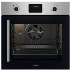 Zanussi ZOCNX3XR Side-Opening Single Fan Oven with Right Hinge