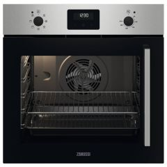 Zanussi ZOCNX3XL Side-Opening Single Fan Oven with Left Hinge