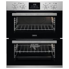Zanussi ZOF35601XK Multiplus Double Electric Fan Oven and Grill