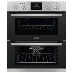 Zanussi ZOF35661XK Multiplus Double Electric Oven and Grill